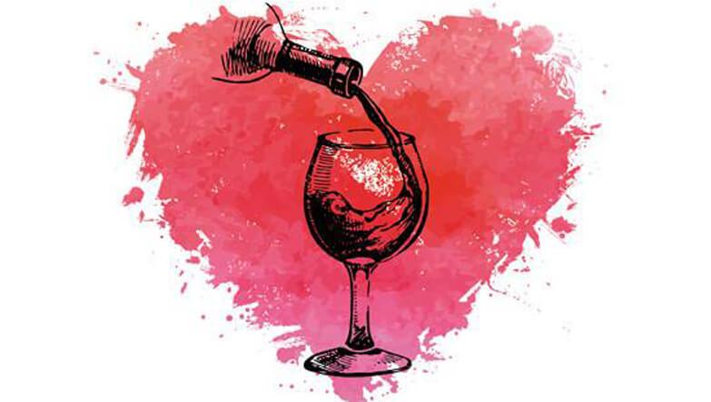 kalp ve şarap