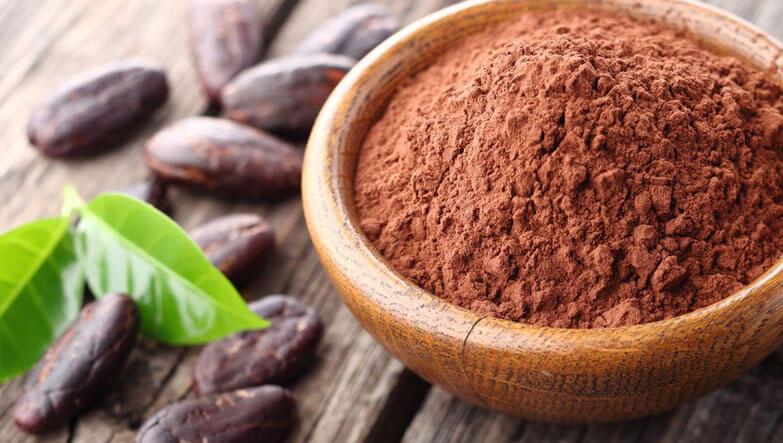 vegan beslenme için kakao tohumu